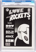 Modern Age (1980-Present):Alternative/Underground, Love and Rockets #1 (A Hernandez Production, 1981) CGC NM/MT 9.8White pages....