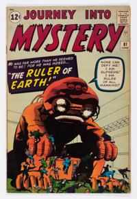 Journey Into Mystery #81 (Marvel, 1962) Condition: VG/FN