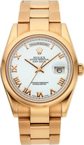 Timepieces:Wristwatch, Rolex Ref. 118205 18k Rose Gold Day-Date Oyster PerpetualChronometer. ...