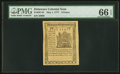 Colonial Notes:Delaware, Delaware May 1, 1777 9d PMG Gem Uncirculated 66 EPQ.. ...