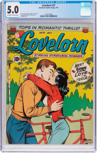 Lovelorn #27 (ACG, 1952) CGC VG/FN 5.0 Off-white to white pages