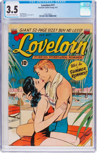 Lovelorn #17 (ACG, 1951) CGC VG- 3.5 Off-white to white pages