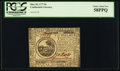 Colonial Notes:Continental Congress Issues, Continental Currency May 20, 1777 $6 PCGS Choice About New 58PPQ.....