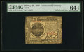 Colonial Notes:Continental Congress Issues, Continental Currency May 20, 1777 $7 PMG Choice Uncirculated 64 EPQ.. ...