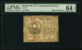 Colonial Notes:Continental Congress Issues, Continental Currency May 20, 1777 $30 PMG Choice Uncirculated 64 EPQ.. ...
