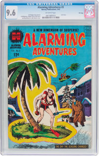 Alarming Adventures #3 File Copy (Harvey, 1963) CGC NM+ 9.6 Off-white pages