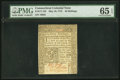 Colonial Notes:Connecticut, Connecticut May 10, 1775 40s PMG Gem Uncirculated 65 EPQ.