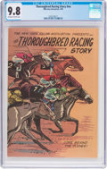 Modern Age (1980-Present):Miscellaneous, Thoroughbred Racing Story #nn (Mike Roy Enterprises, 1981) CGC NM/MT 9.8 Off-white to white pages....