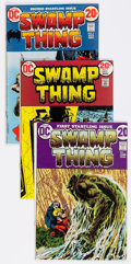 Bronze Age (1970-1979):Horror, Swamp Thing #1-11 Group (DC, 1972-74) Condition: Average FN....(Total: 11 Comic Books)