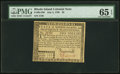 Colonial Notes:Rhode Island, Rhode Island July 2, 1780 $5 PMG Gem Uncirculated 65 EPQ.. ...