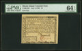 Colonial Notes:Rhode Island, Rhode Island July 2, 1780 $1 PMG Choice Uncirculated 64 EPQ.. ...
