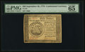 Colonial Notes:Continental Congress Issues, Continental Currency September 26, 1778 $50 PMG Gem Uncirculated 65 EPQ.. ...