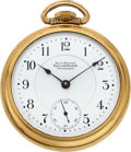 """Timepieces:Pocket (pre 1900) , Ball (Hamilton) Early """"Ball's Standard Railroad Watch Co."""" 17 Jewels. ..."""