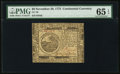 Colonial Notes:Continental Congress Issues, Continental Currency November 29, 1775 $6 PMG Gem Uncirculated 65 EPQ.. ...