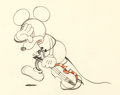 Animation Art:Production Drawing, Just Mickey Dessin d'animation de Mickey (Walt Disney,1930)....