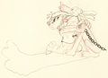 Animation Art:Production Drawing, The Mad Doctor Dessin d'animation de Mickey et Pluto (WaltDisney, 1933)....