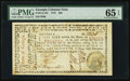 Colonial Notes:Georgia, Georgia May 4, 1778 $20 PMG Gem Uncirculated 65 EPQ.. ...