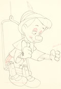 Animation Art:Production Drawing, Pinocchio Dessin d'animation (Walt Disney, 1940)....