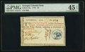 Colonial Notes:Georgia, Georgia 1776 $4 PMG Choice Extremely Fine 45 EPQ.. ...