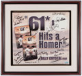 "Autographs:Others, ""61*"" Multi-Signed Movie Poster.. ..."