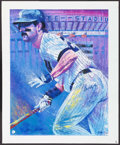 Autographs:Others, Don Mattingly Signed Bill Lopa Limited Edition Giclee Print.. ...