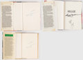Autographs:Others, Reggie Jackson Signed Book Lot of 3.. ...