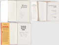 Autographs:Others, Baseball Hall of Famers Signed Book Lot of 3.. ...