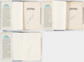 Autographs:Others, Catfish Hunter Signed Book Lot of 3.. ...
