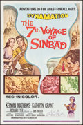 """Movie Posters:Fantasy, The 7th Voyage of Sinbad (Columbia, R-1971). One Sheet (27"""" X 41""""). Fantasy.. ..."""