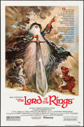 "Movie Posters:Animation, The Lord of the Rings (United Artists, 1978). Folded, Very Fine. One Sheet (27"" X 41""). Style A, Tom Jung Artwork. Animation..."