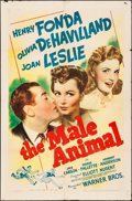 "Movie Posters:Comedy, The Male Animal (Warner Brothers, 1942). One Sheet (27"" X 41""). Comedy.. ..."