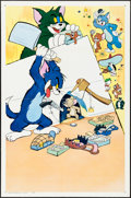 """Movie Posters:Animation, Tom and Jerry (MGM, 1963). Stock One Sheet (27"""" X 41""""). Animation.. ..."""