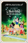 """Movie Posters:Animation, Snow White and the Seven Dwarfs & Other Lot (Buena Vista,R-1983). One Sheets (2) (27"""" X 41""""). Animation.. ... (Total: 2Items)"""