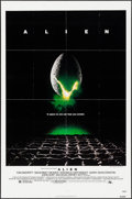 """Movie Posters:Science Fiction, Alien (20th Century Fox, 1979). One Sheet (27"""" X 41"""") & Photos (5) (11"""" X 15.5""""). Science Fiction.. ... (Total: 6 Items)"""