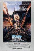 "Movie Posters:Animation, Heavy Metal (Columbia, 1981). One Sheet (27"" X 41"") Advance. Chris Achilleos Artwork. Animation.. ..."