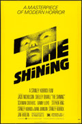 "Movie Posters:Horror, The Shining (Warner Brothers, 1980). One Sheet (27"" X 41"") Saul Bass Artwork. Horror.. ..."