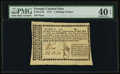 Colonial Notes:Georgia, Georgia 1776 1s 6d PMG Extremely Fine 40 EPQ.. ...