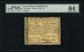 Colonial Notes:New Jersey, New Jersey June 9, 1780 $7 PMG Choice Uncirculated 64 EPQ.. ...
