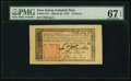 Colonial Notes:New Jersey, New Jersey March 25, 1776 18d PMG Superb Gem Unc 67 EPQ.. ...