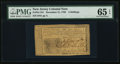 Colonial Notes:New Jersey, New Jersey December 31, 1763 3s PMG Gem Uncirculated 65 EPQ.. ...