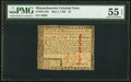 Colonial Notes:Massachusetts, Massachusetts May 5, 1780 $5 PMG About Uncirculated 55 EPQ...