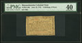 Colonial Notes:Massachusetts, Massachusetts June 18, 1776 2s 6d PMG Extremely Fine 40.. ...