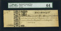 Maryland 1733 15s PMG Choice Uncirculated 64