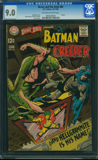 The Brave and the Bold #80 (DC, 1968) CGC VF/NM 9.0 OFF-WHITE TO WHITE pages