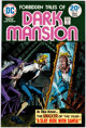 DC Forbidden Tales of Dark Mansion #15 Cover Proof (DC, 1974)
