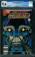 Modern Age (1980-Present):Superhero, Crisis on Infinite Earths #6 (DC, 1985) CGC NM+ 9.6 WHITE pages.