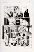 Original Comic Art:Panel Pages, Brian Bolland and Terry Austin Camelot 3000 #8 Story Page 3Original Art (DC, 1983)....