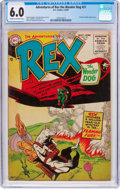 Golden Age (1938-1955):Miscellaneous, Adventures of Rex the Wonder Dog #21 (DC, 1955) CGC FN 6.0 Cream to off-white pages....
