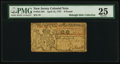 Colonial Notes:New Jersey, New Jersey April 12, 1757 £6 PMG Very Fine 25.. ...