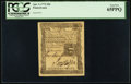 Colonial Notes:Pennsylvania, Pennsylvania April 3, 1772 18d PCGS Gem New 65PPQ.. ...